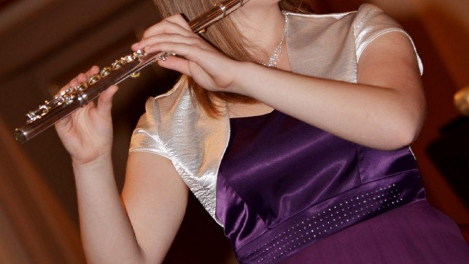 Dóra Anna Kovács z Maďarska, 2. místo flétna