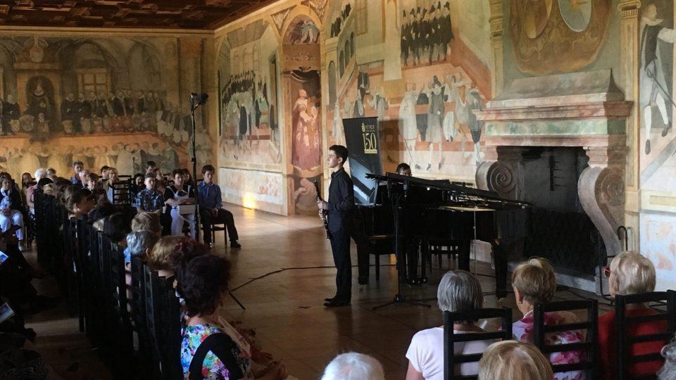 Jihočeský festival Concertino Praga v Bechyni