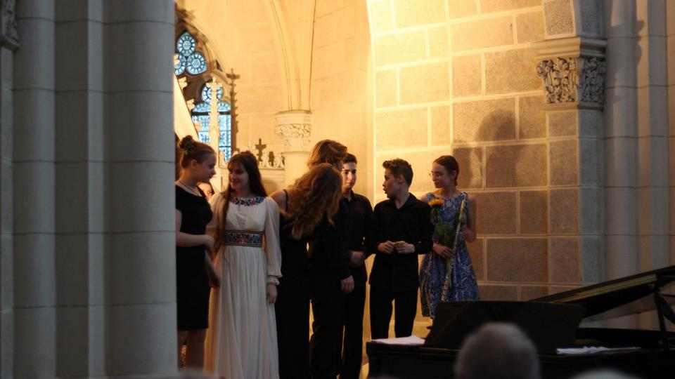 Vítězové Concertino Praga vystoupili ve Schwarzenberské hrobce